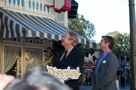 Tony Baxter and Bruce Vaughn See the Window Unveiled