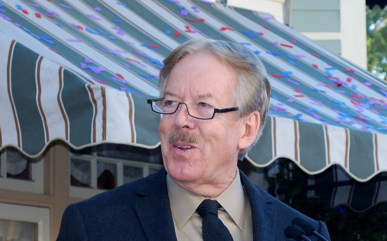 On Tony Baxter and His Window Dedication Ceremony