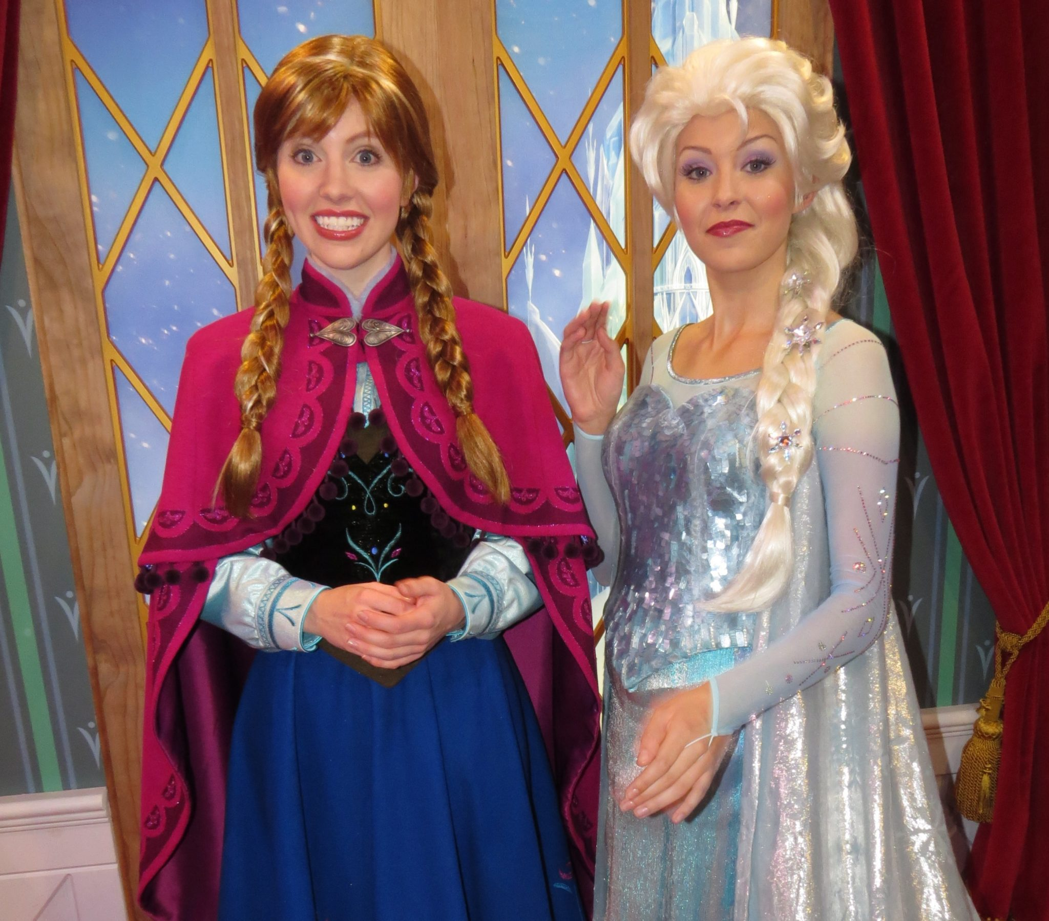 Disney's Frozen Characters and Merchandise at Walt Disney World