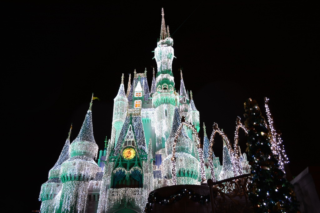 Christmas at the Magic Kingdom Including Castle Dream Lights
