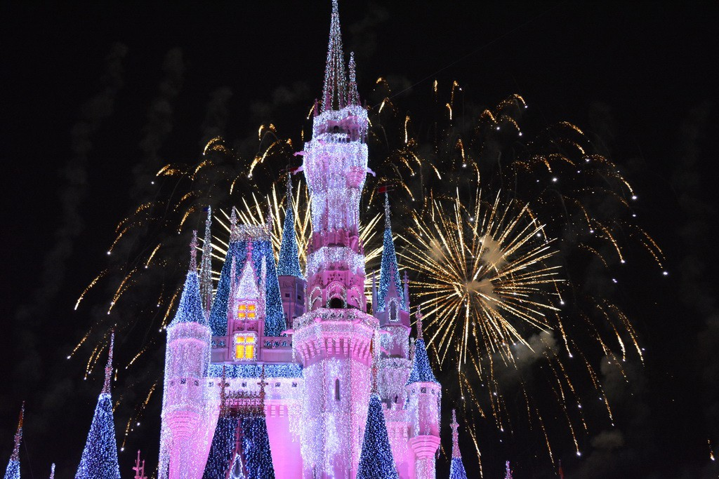 Wishes now includes fireworks behind Cinderella Castle in ice during part of the show.