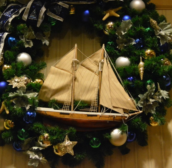 Christmas Decor at the Yacht and Beach Club and Boardwalk Resorts