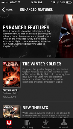 Marvel Unlimited iOS App Updated