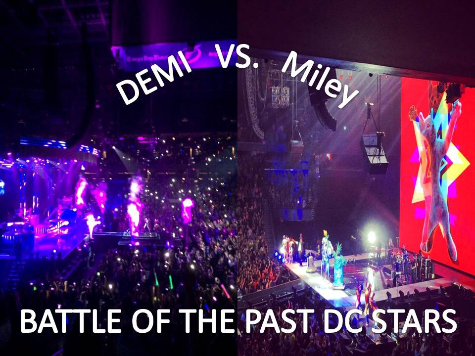 Demi & Miley: 2 Very Different Concerts