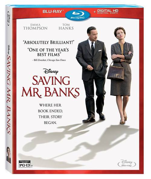 'Saving Mr. Banks' Blu-Ray Review