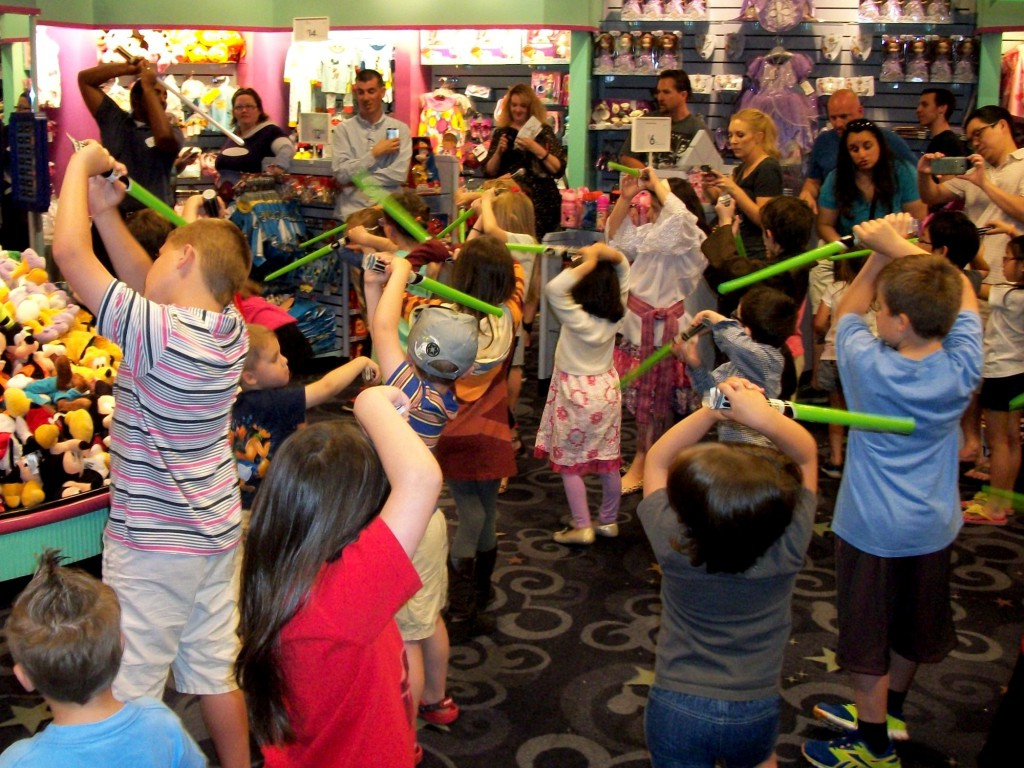 Two Perspectives on May the Fourth at the Disney Store