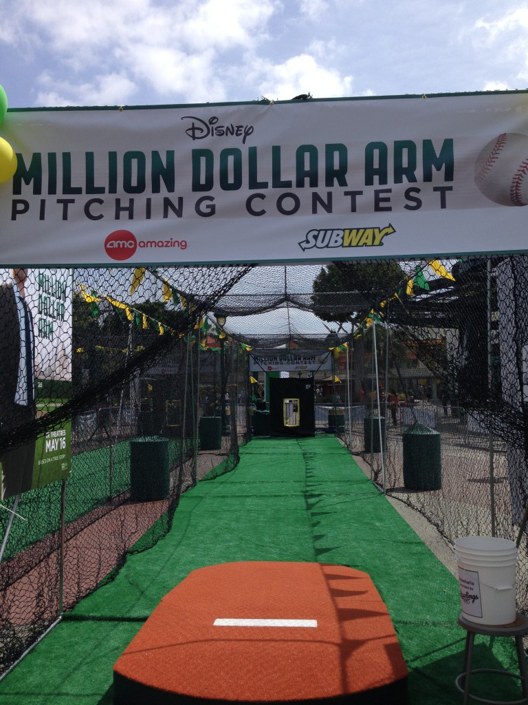 The Million Dollar Arm Pitching Contest