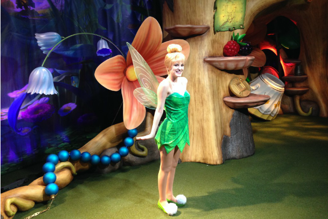 Tinker Bell's New Home at Magic Kingdom