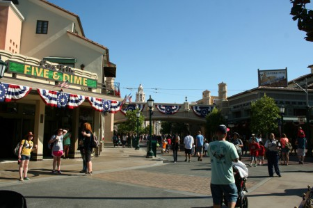 Buena Vista Street is ready for a patriotic Fourth of July