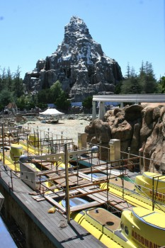 Matterhorn and drained submarine lagoon