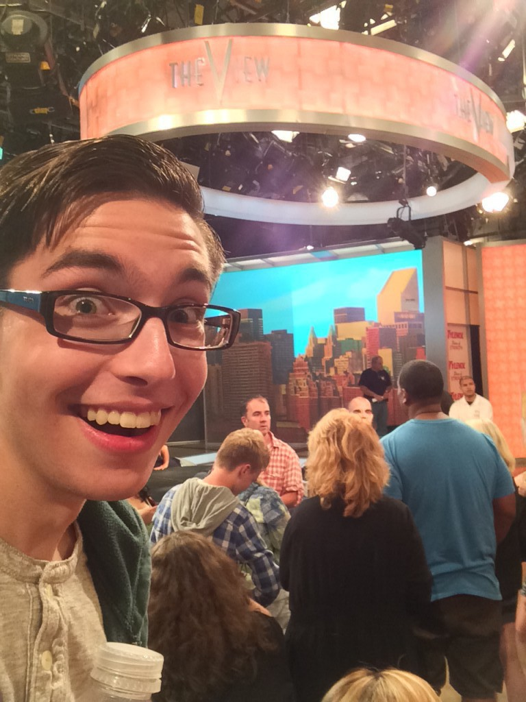 """My Shameless Selfie on the set of """"The View"""""""