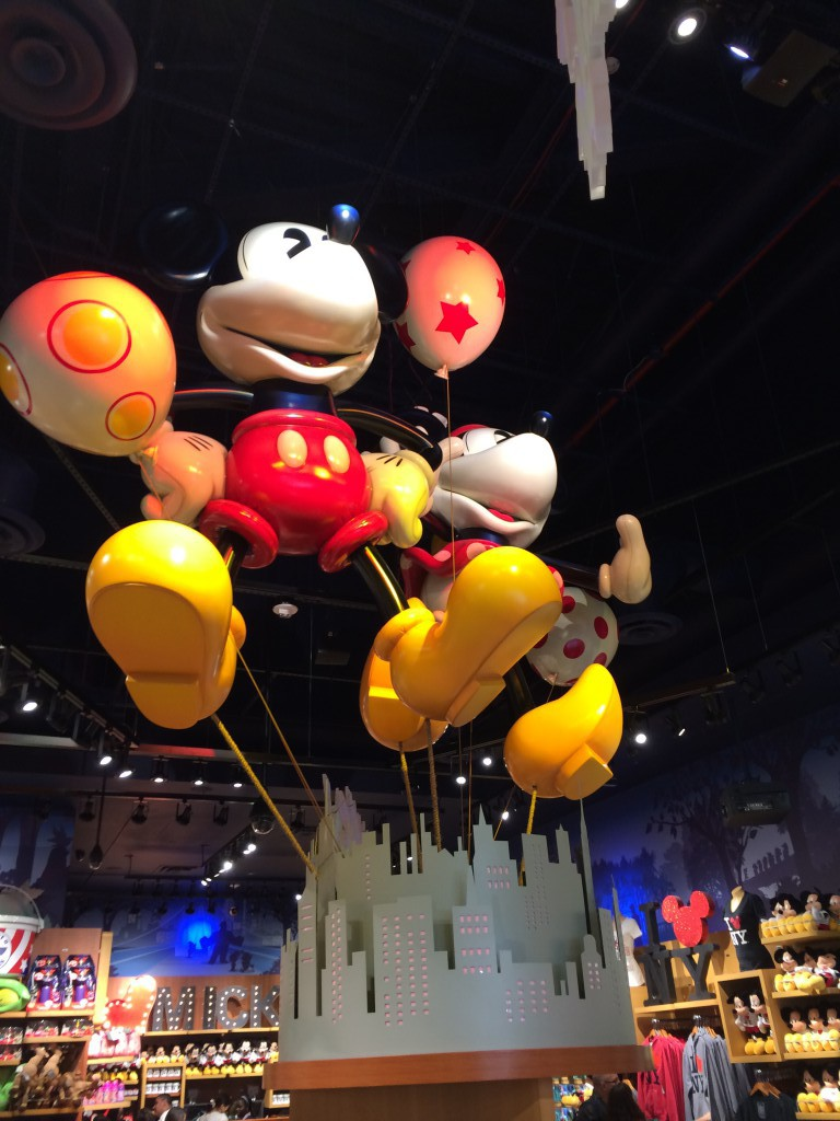 Disney in NYC-Part 3: Disney Store in Times Square