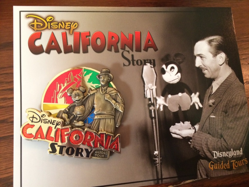 A Look at the Disney's California Story Guided Tour