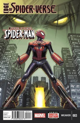 Marvel Introduces New Sci-Fi Spider-Man in Edge of Spider-Verse #3