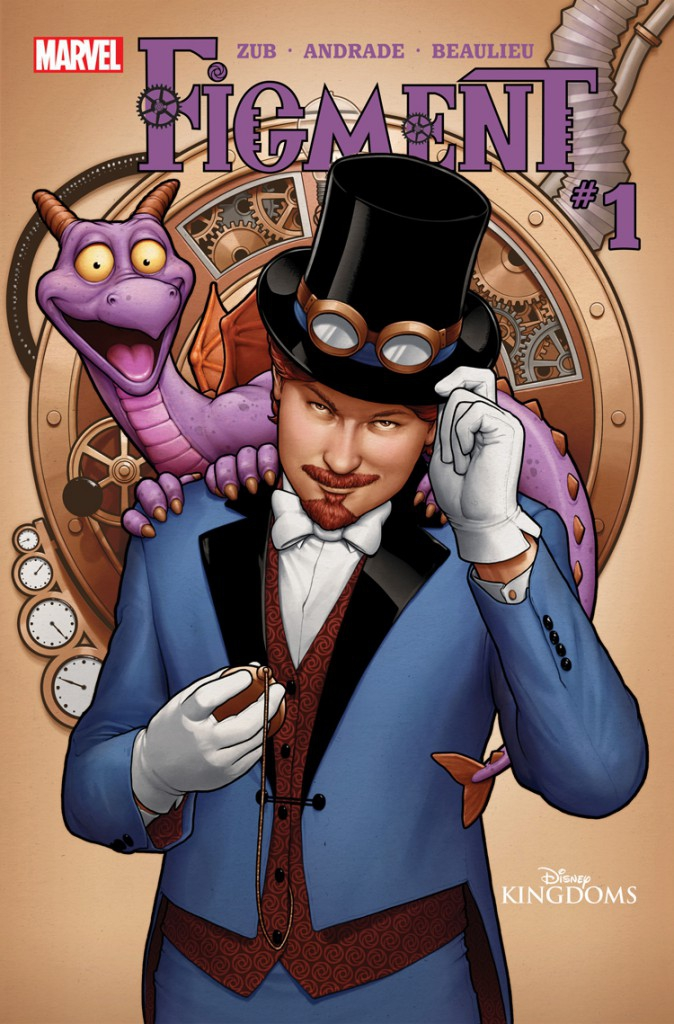 An Interview with Disney Kingdoms: Figment Writer Jim Zub