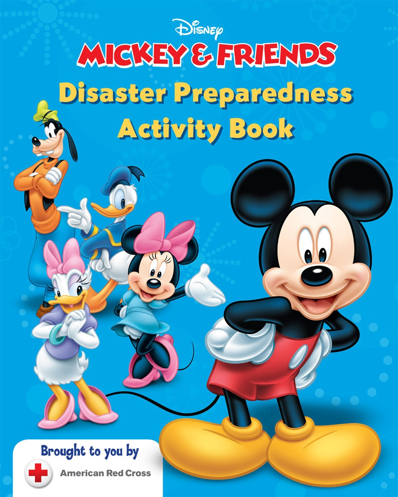 Disney Partners with Red Cross for National Emergency Preparedness Month