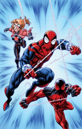 First Look at Scarlet Spiders #1