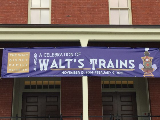 """All Aboard: A Celebration of Walt's Trains"" at the Walt Disney Family Museum"