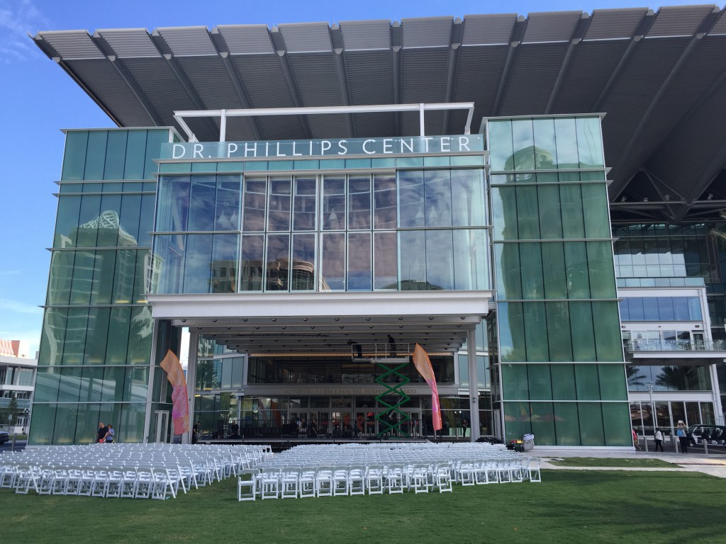 Dr. Phillips Center for the Performing Arts Ribbon Cutting