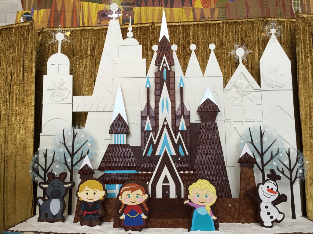 Frozen Gingerbread Comes to the Contemporary Hotel