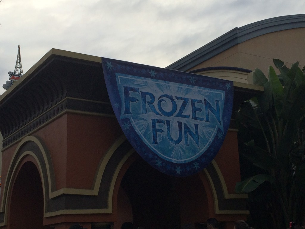 Some of Frozen Fun Debuts in DCA
