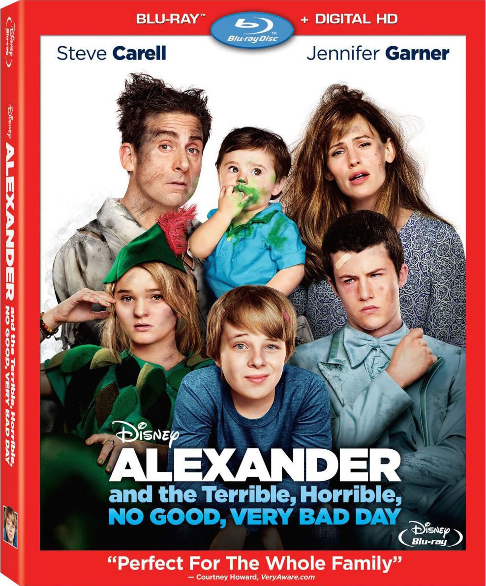 """""""Alexander and the Terrible, Horrible, No Good, Very Bad Day"""" Blu-Ray Review"""