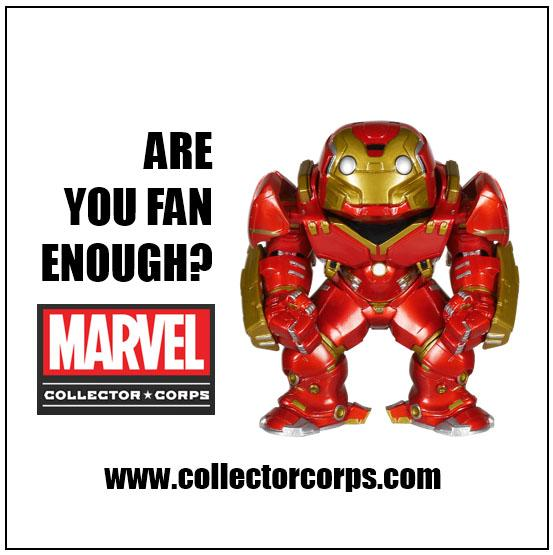 Marvel and Funko Launches Marvel Collector Corps