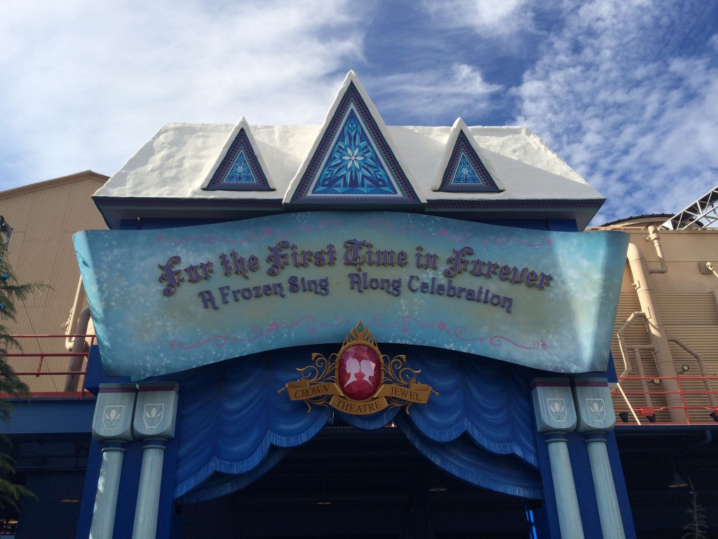Frozen Fun at the Disneyland Resort