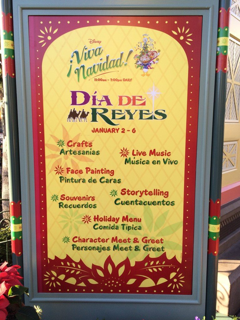 Three Kings Day at Disney California Adventure