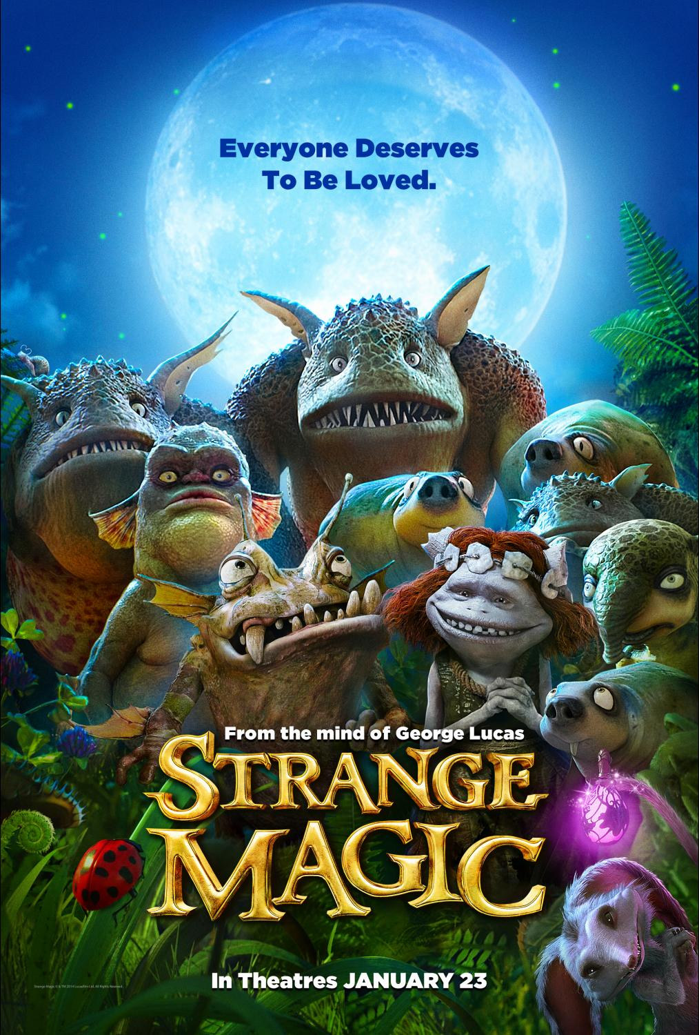 Strange Magic Disappoints at the Box Office