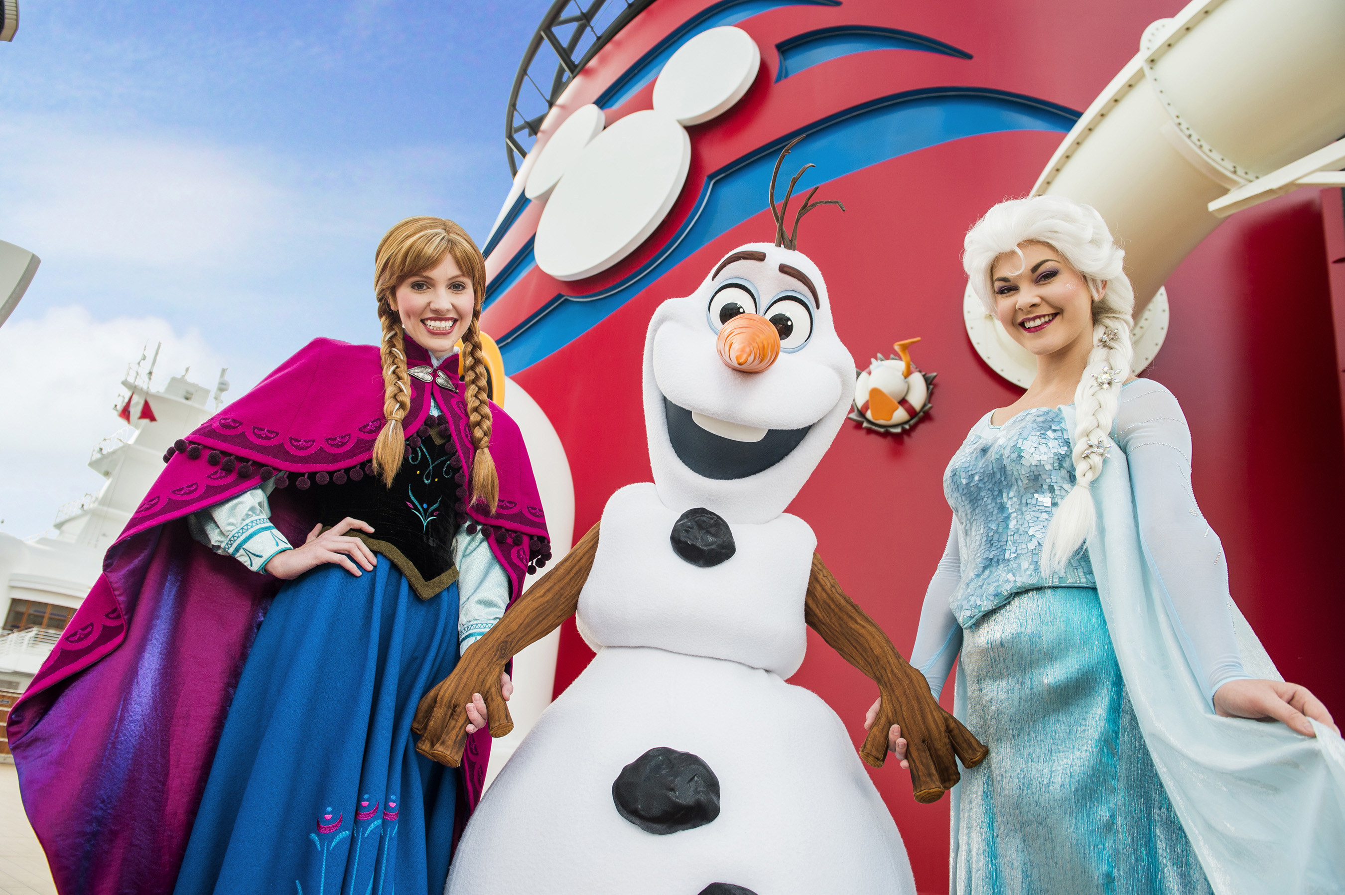 Frozen Comes to the Disney Cruise Line
