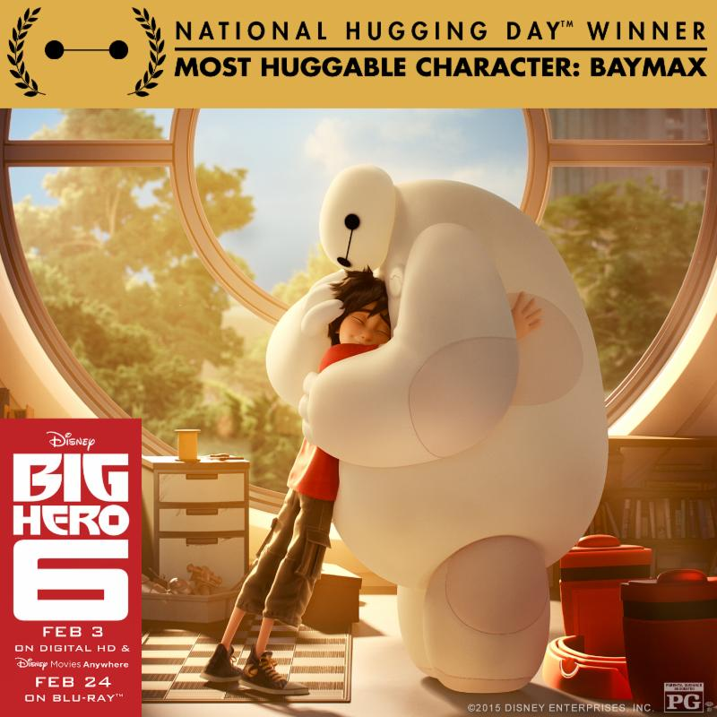 Baymax Is A National Hugging Day Winner