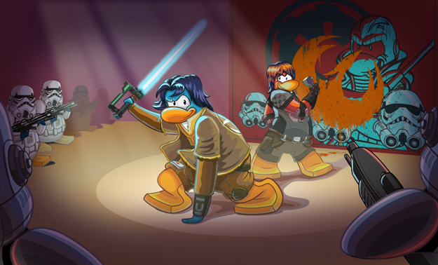 Star Wars Rebels Takes Over Club Penguin
