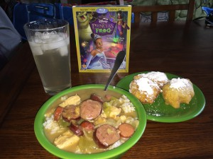 Princess and the Frog Dinner