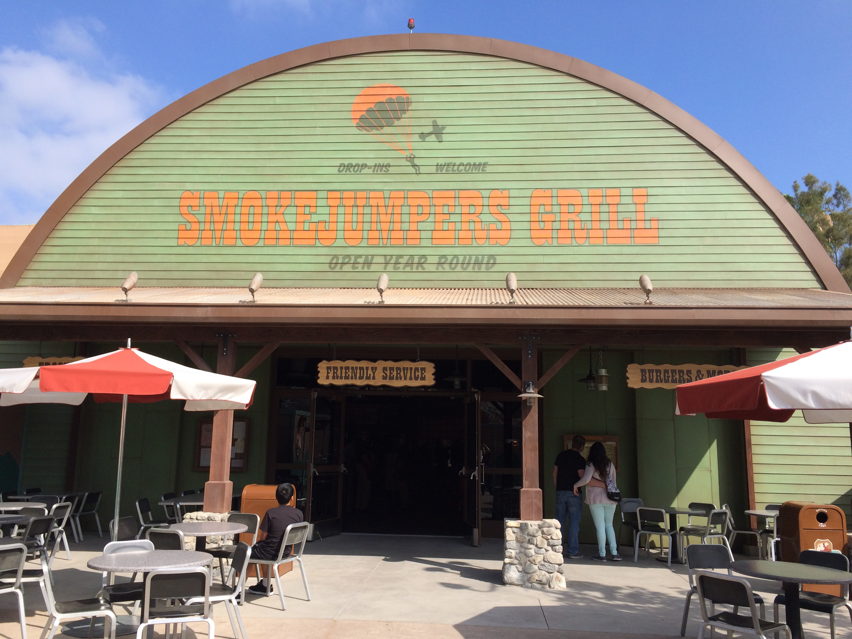 Smokejumpers Grill opens in Disney California Adventure