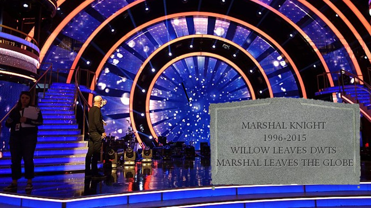 #DWTS20 Marshal. Is. Heartbroken.