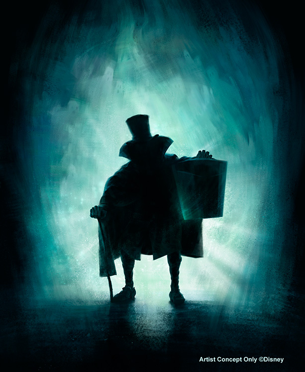 Hatbox Ghost Returns to Disneyland's Haunted Mansion