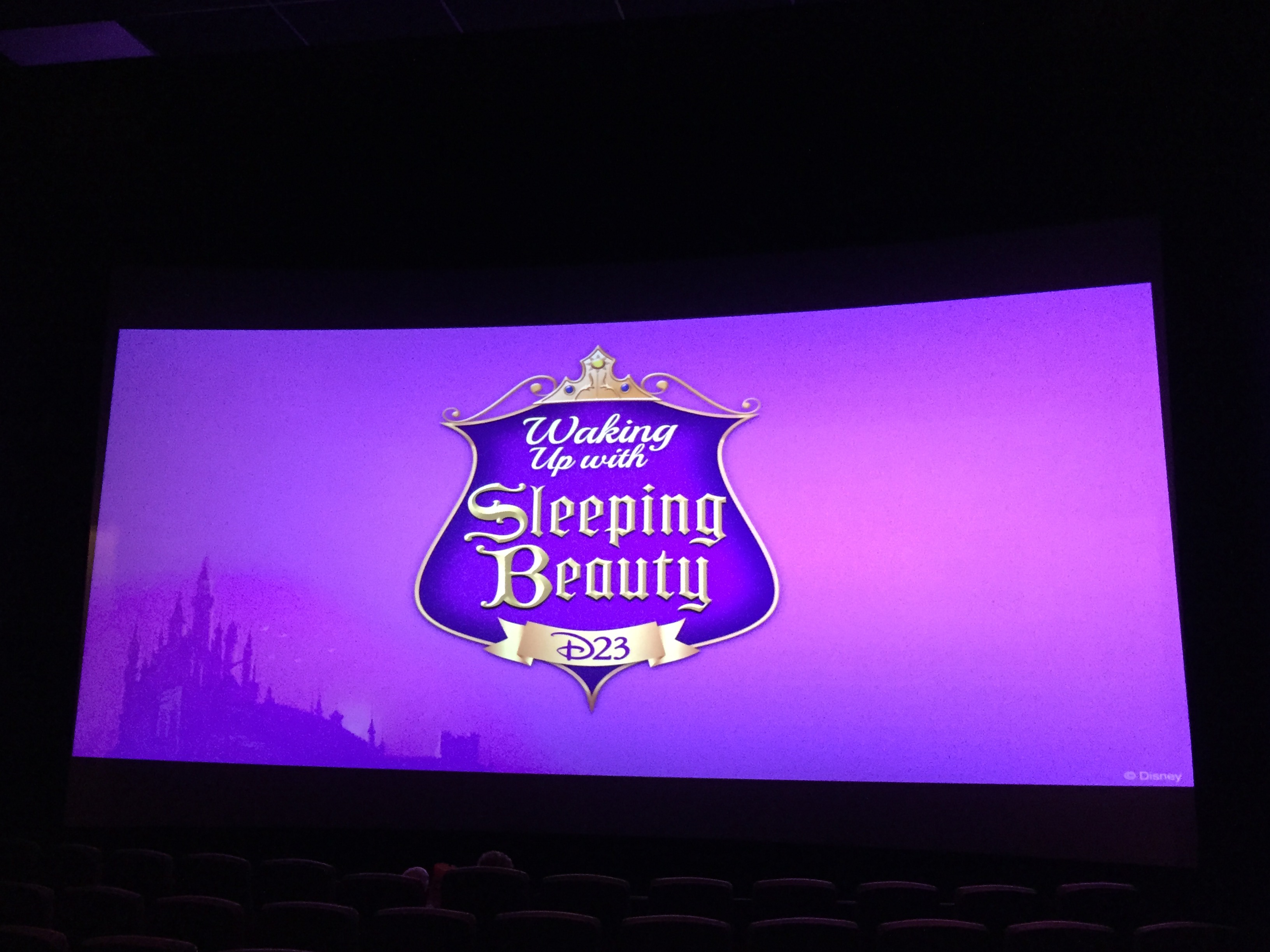 D23 Waking Up with Sleeping Beauty Event
