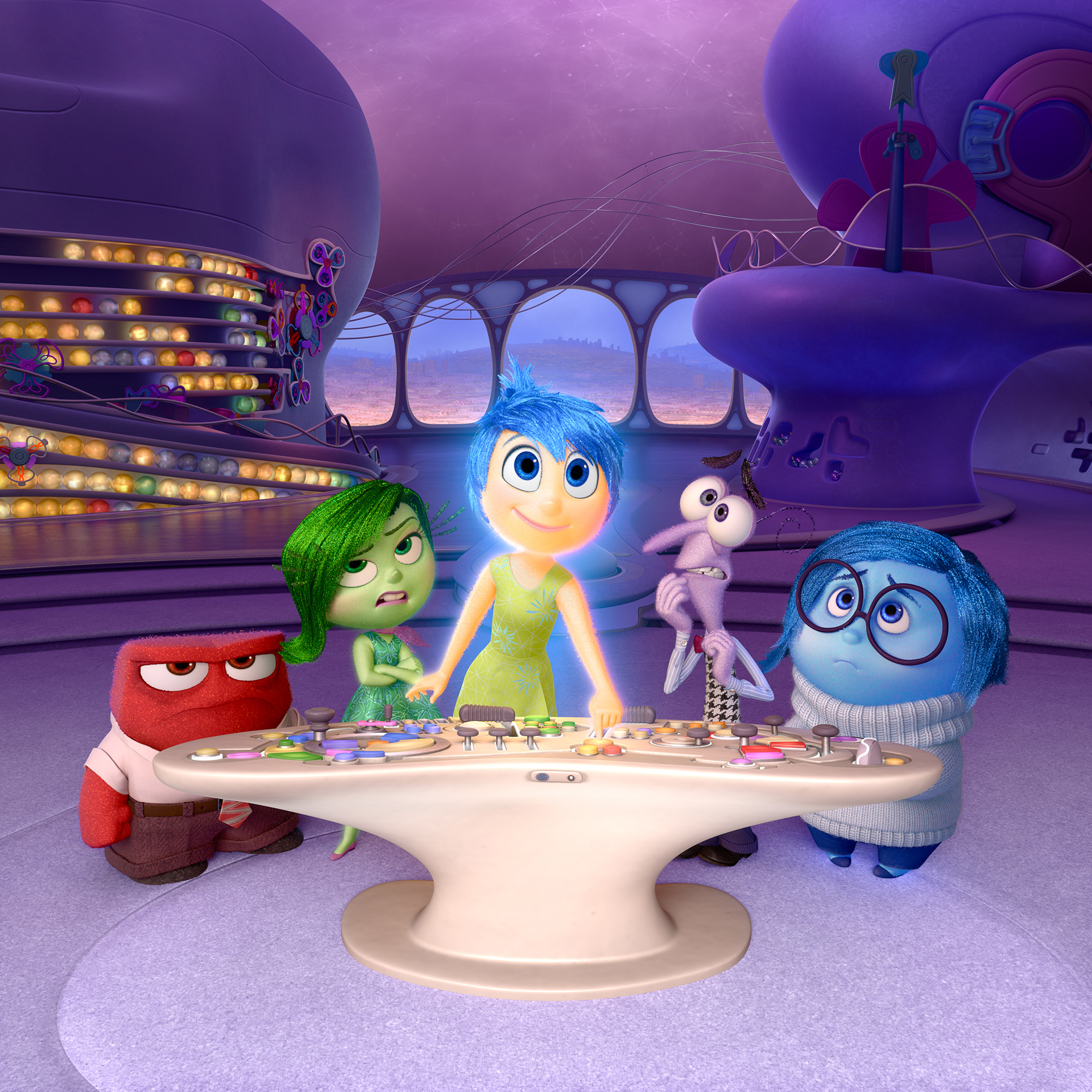 "Disney Pixar Takes ""Inside Out"" Show on the Road"
