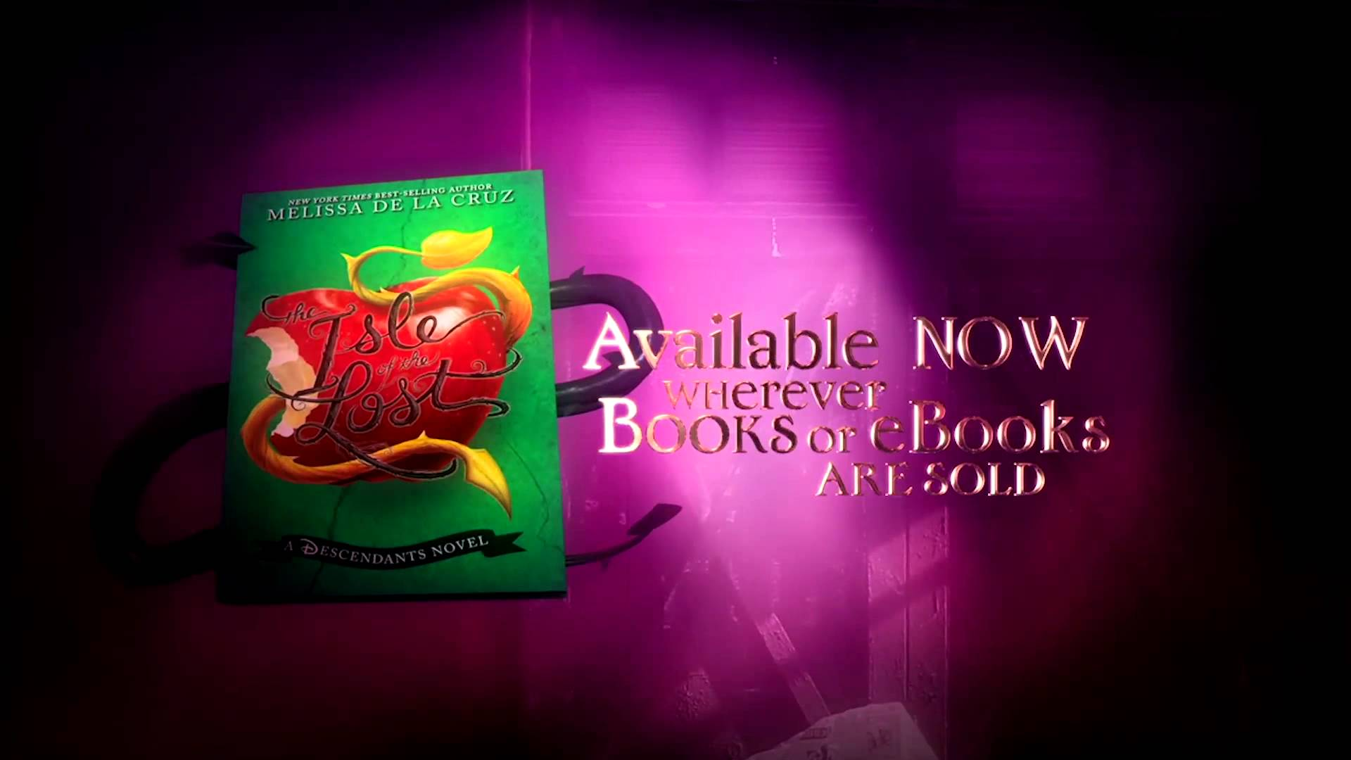"""""""The Isle of the Lost"""" A Descendants Novel Trailer Released"""
