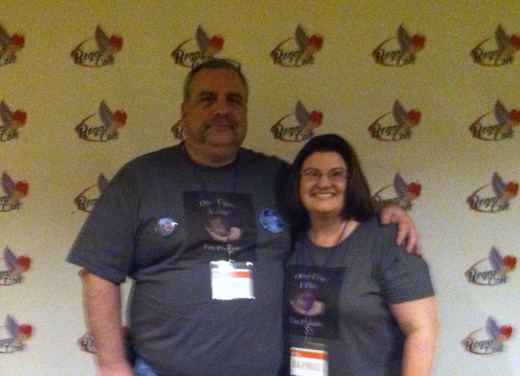 Podcasters Jeff and Colleen Roney from Once Upon a Time Fan Podcast