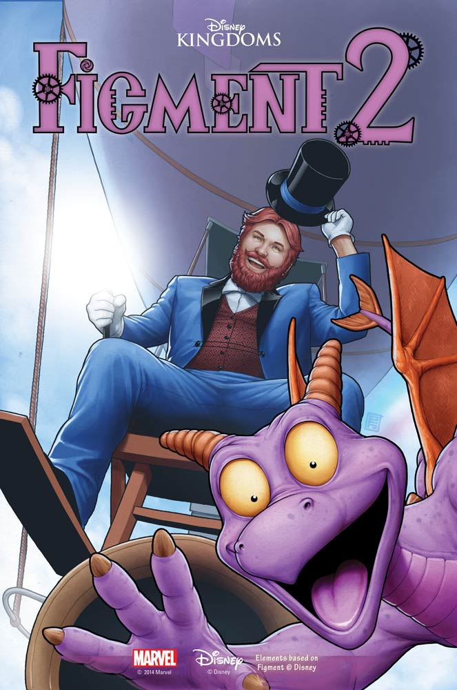 Further Details About Marvel's Figment 2 Comic