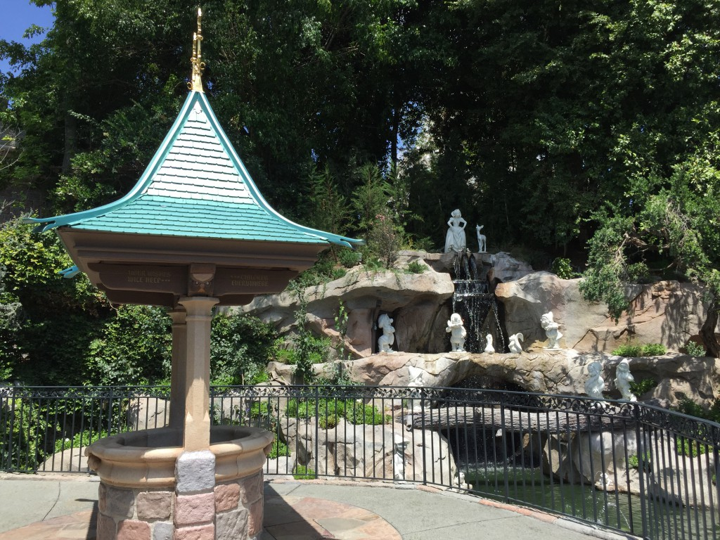 Snow White's Grotto and Wishing Well
