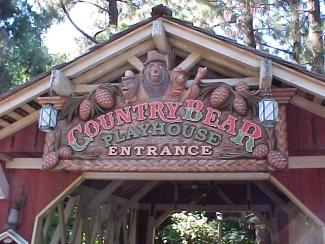 Laughing Place Country Bear Playhouse Disneyland