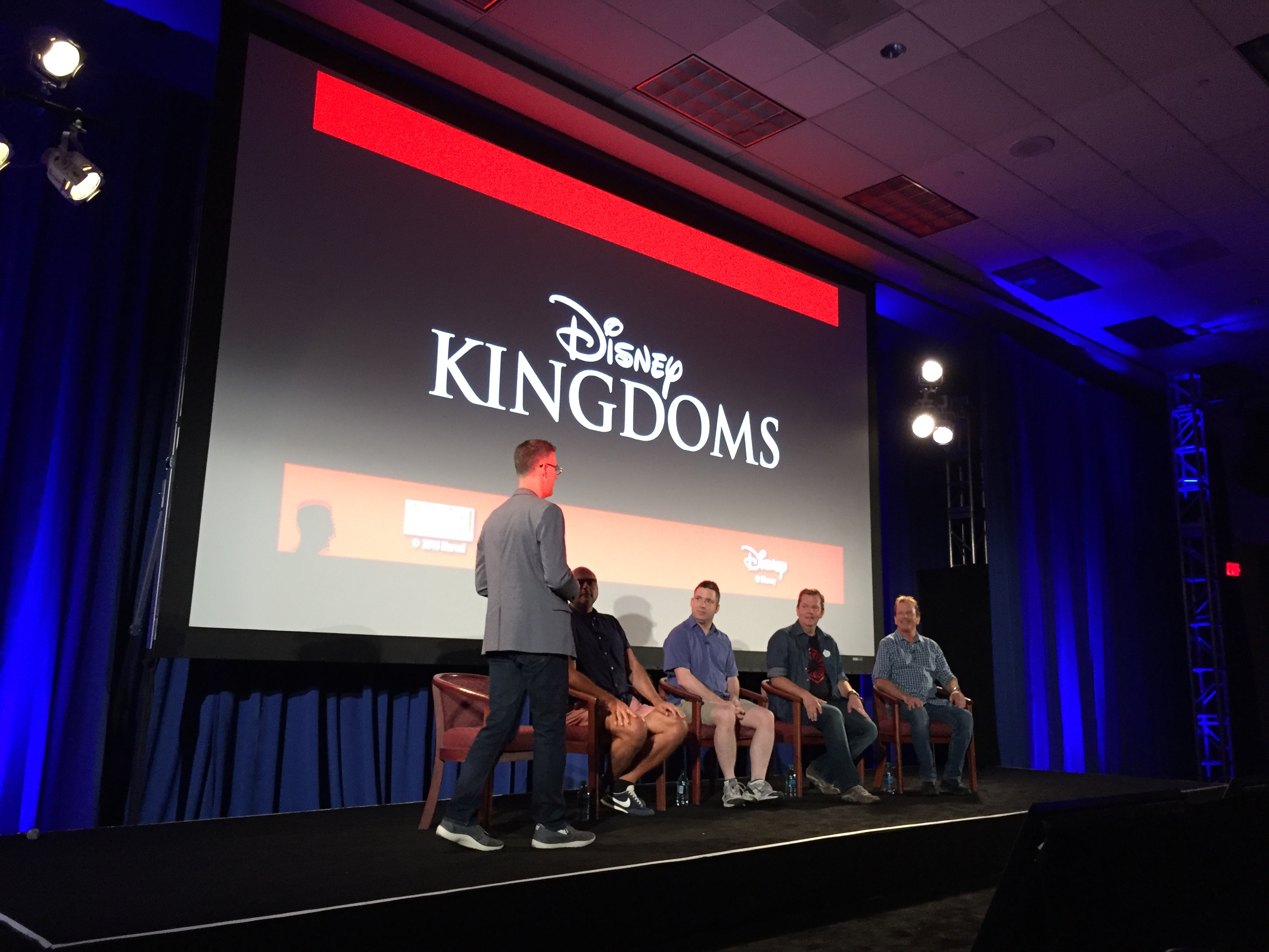 D23 Expo - Disney Kingdoms Panel