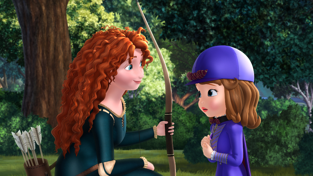 Merida Guest Starring in Special Sofia the First Event