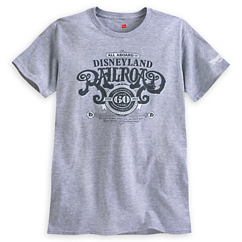 Disneyland Railroad Merchandise Available from Disney Store
