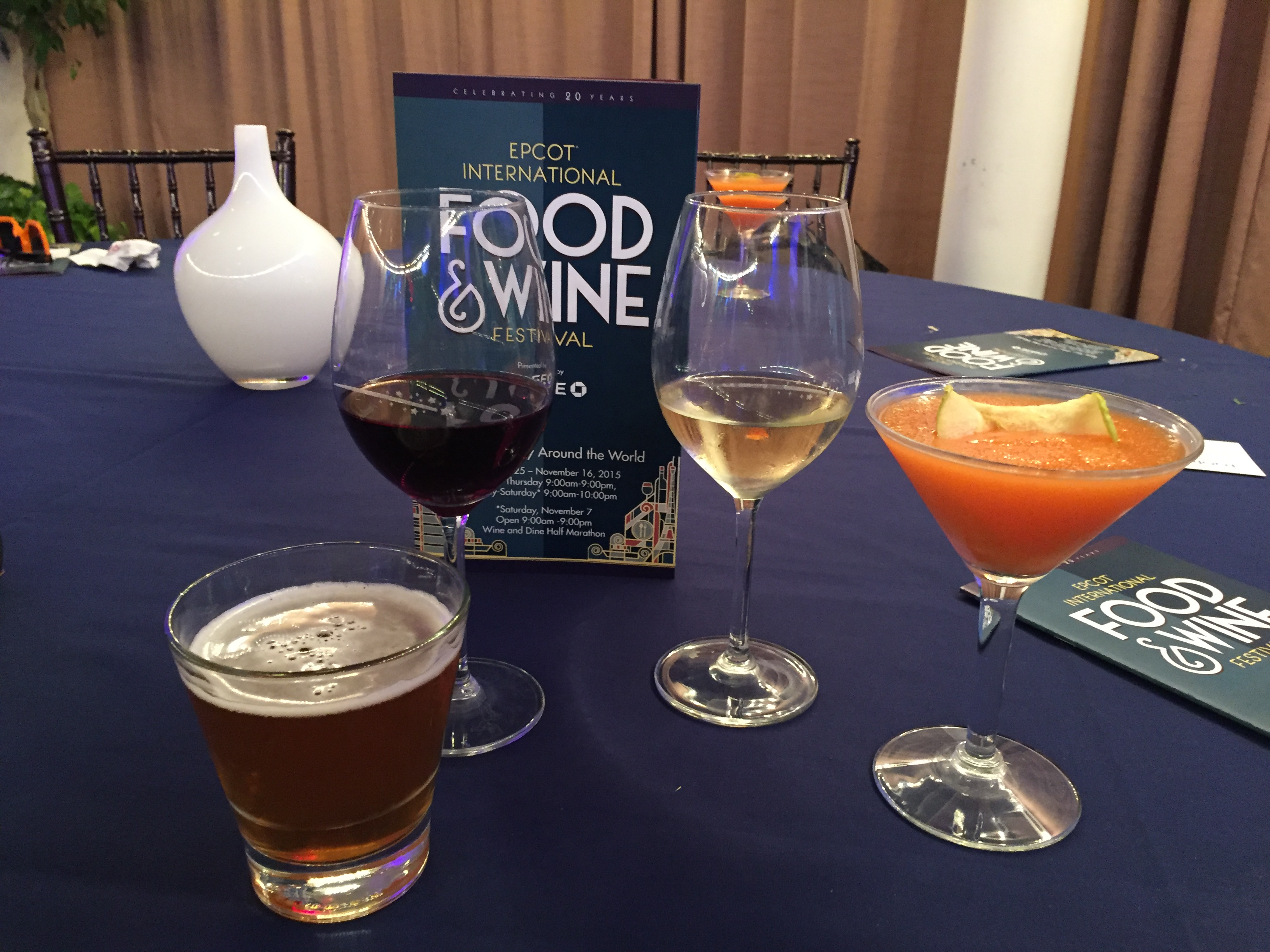 Epcot's 20th International Food & Wine Festival