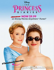 Princess Diaries Throwback Thursday