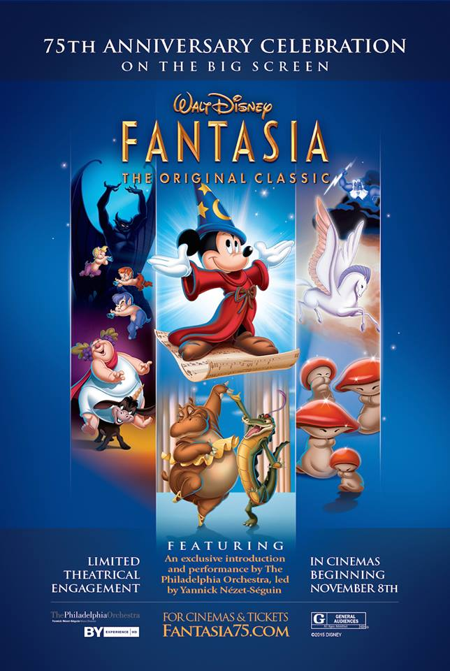Fantasia Returning to the Big Screen
